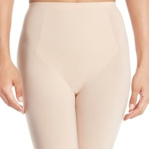 SPANX 10005R Thinstincts Mid Thigh Short NUDE SZ.S